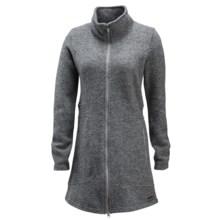 Merrell Odda Boiled Wool Swacket (For Women) in Manganese Heath - Closeouts