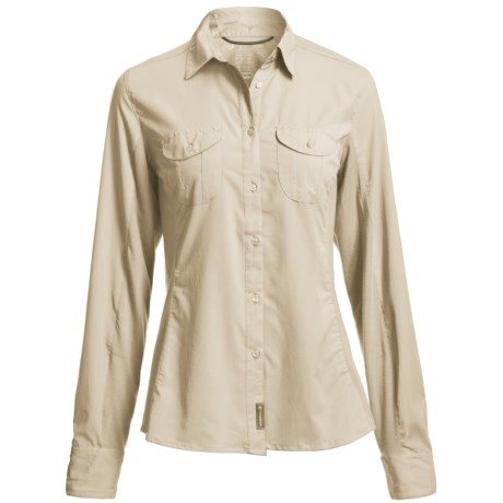 Merrell Ophelia Shirt - UPF 30+, Long Sleeve (For Women) in Sea Salt