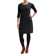 Merrell Ostrova Dress - Long Sleeve (For Women) in Black - Closeouts