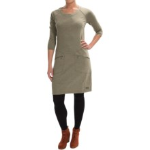 Merrell Ostrova Dress - Long Sleeve (For Women) in Clay Heather - Closeouts