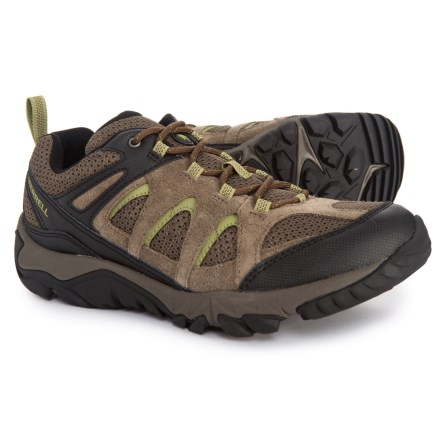 14ef572871 Merrell Outmost Vent Hiking Shoes (For Men) in Boulder - Closeouts