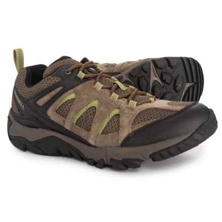 Merrell Outmost Vent Hiking Shoes (For Men) in Boulder - Closeouts d2195124a