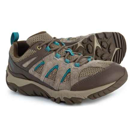 3cfee78f59 Clearance. Merrell Outmost Vent Hiking Shoes (For Women) in Boulder -  Closeouts