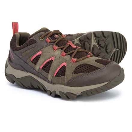 Merrell Outmost Vent Hiking Shoes (For Women) in Canteen - Closeouts
