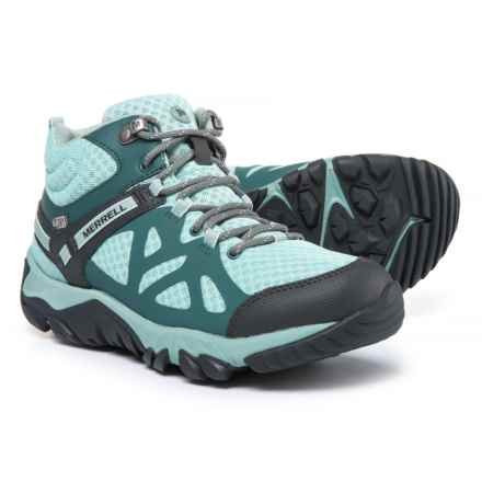 Merrell Outright Edge Mid Hiking Boots - Waterproof (For Women) in Sedona/Glacier - Closeouts
