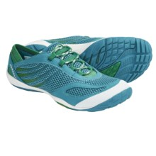 Merrell Pace Glove Trail Running Shoes - Minimalist (For Women) in Peacock Blue/Deep Mint - Closeouts