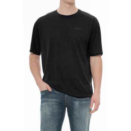 Merrell Paradox T-Shirt - Short Sleeve (For Men) in Black - Closeouts
