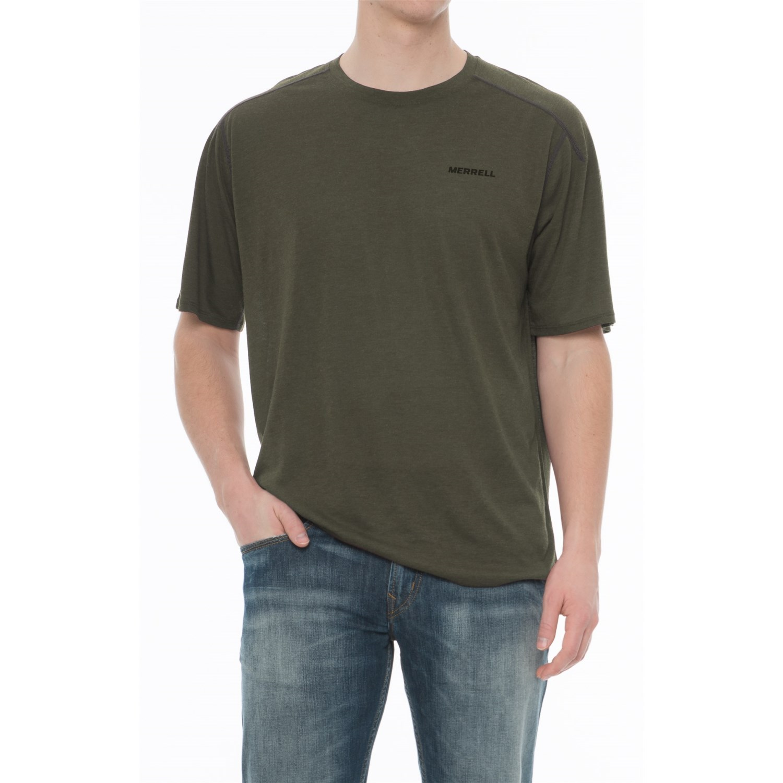 Merrell Mens Austin Shirtn Shasta - Shirts & Tops