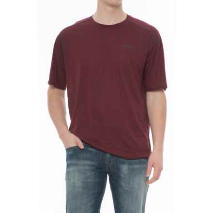 Merrell Paradox T-Shirt - Short Sleeve (For Men) in Windsor Wine - Closeouts