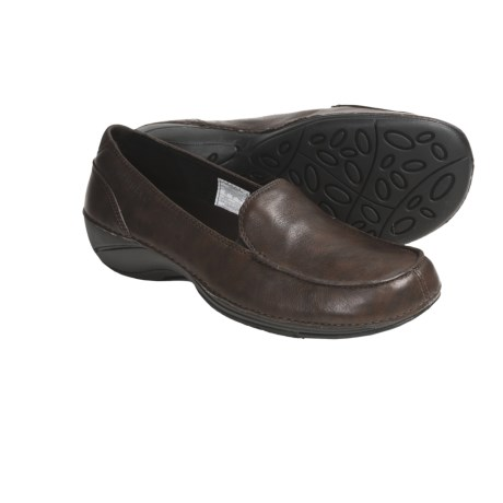 Merrell Parma Leather Shoes - Slip-Ons (For Women