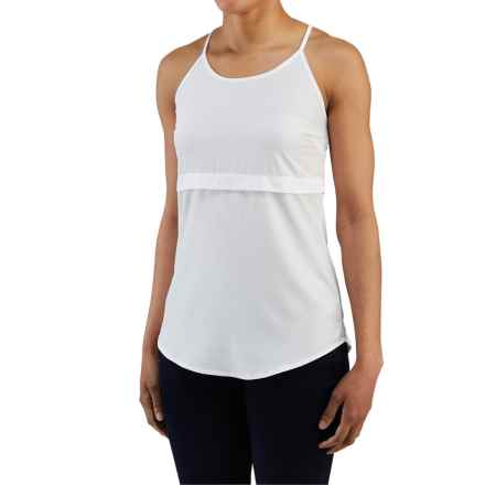 Merrell Passiflora Tank Top - UPF 50+ (For Women) in 100 White - Closeouts