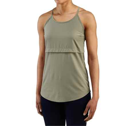 Merrell Passiflora Tank Top - UPF 50+ (For Women) in Putty - Closeouts