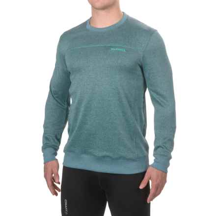Merrell Passport Shirt - Long Sleeve (For Men) in Legion Blue Heather - Closeouts