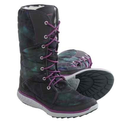 Merrell Pechora Peak Winter Boots (For Women) in Dragonfly - Closeouts