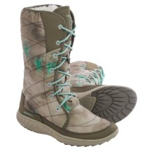 Merrell Pechora Peak Winter Boots (For Women) in Taupe - Closeouts