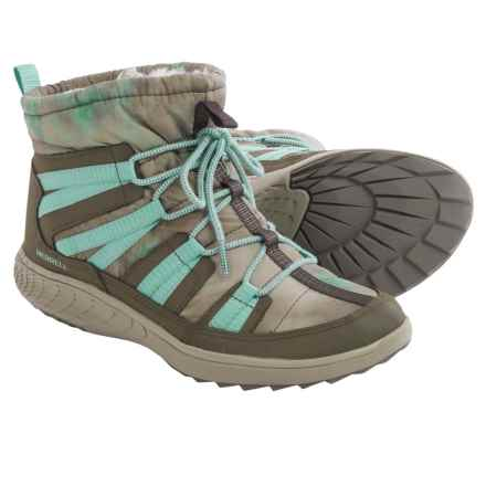 Merrell Pechora Pull Boots (For Women) in Taupe - Closeouts