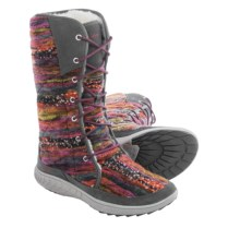 Merrell Pechora Sky Winter Boots (For Women) in Grey/Multi - Closeouts