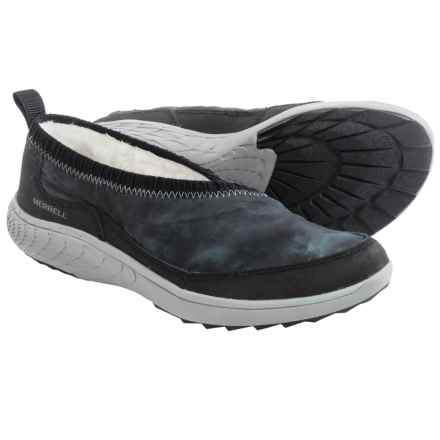 Merrell Pechora Wrap Shoes - Slip-Ons (For Women) in Turbulence - Closeouts