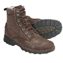Merrell Perdal Boots - Suede, Lace-Ups (For Men) in Bison