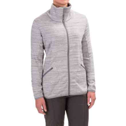 Merrell Phlox Fleece Jacket (For Women) in Sidewalk Heather - Closeouts