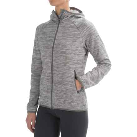 Merrell Phlox Hoodie (For Women) in Sidewalk Heather - Closeouts