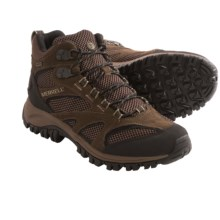 Merrell Phoenix Mid Hiking Shoes - Waterproof (For Men) in Chocolate/Coriander - Closeouts