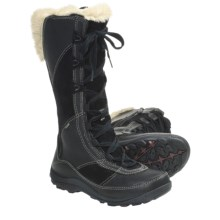 Merrell Prevoz Snow Boots - Insulated, Suede-Leather (For Women) in Black - Closeouts