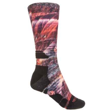 18203fcdda5 Merrell Printed Casual Socks (For Women) in Periwinkle Red - Closeouts