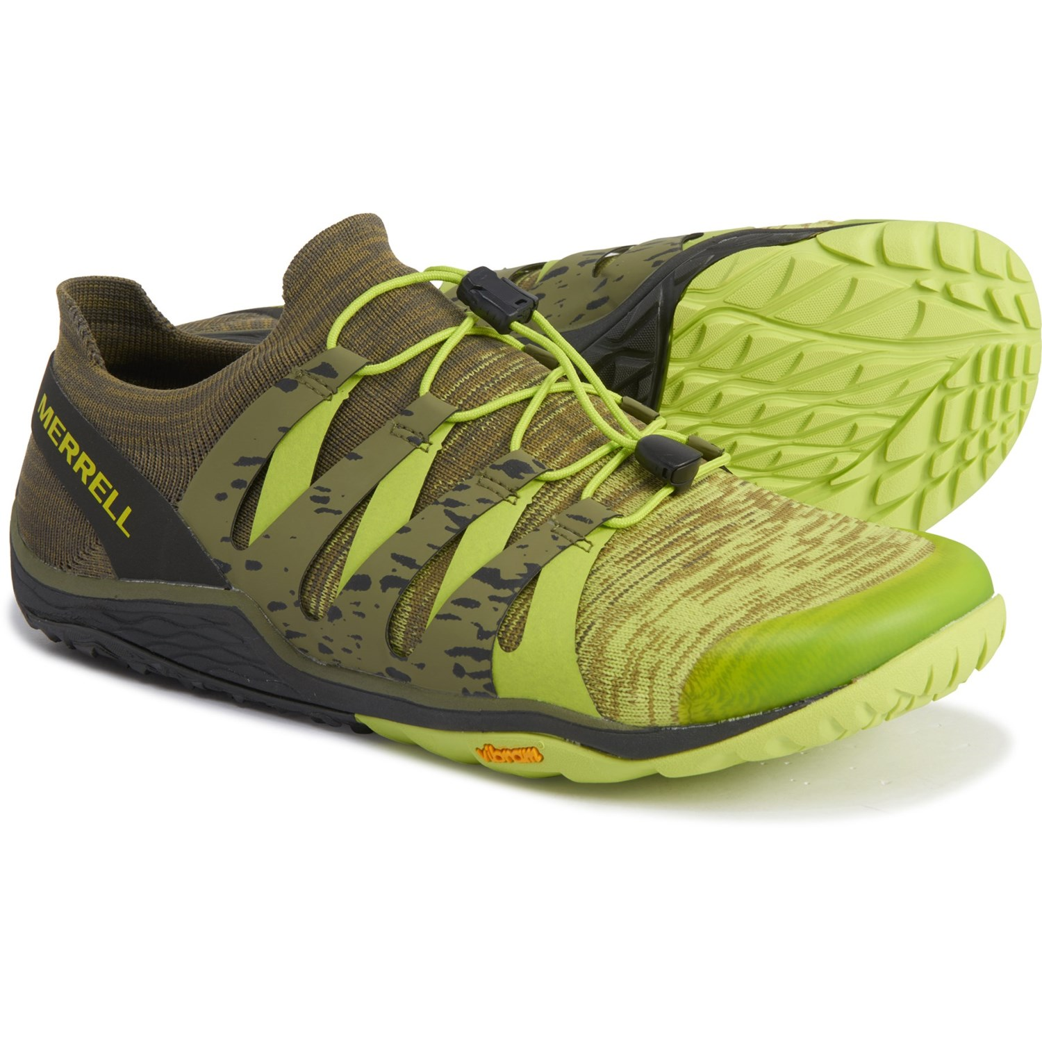 merrell trail glove 4 size guide green