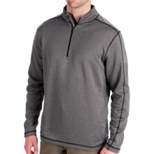 Merrell Pursue Base Layer Top - Zip Neck, Long Sleeve (For Men) in Basalt Heather - Closeouts