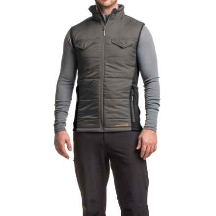 Merrell Quentin PrimaLoft® Vest (For Men) in Manganese/Black - Closeouts