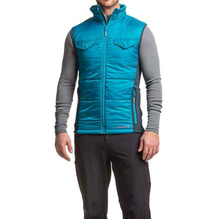 Merrell Quentin PrimaLoft® Vest (For Men) in Skylab/Ink - Closeouts