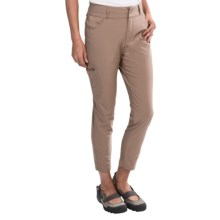 Merrell Rama Tech Stretch Ankle Pants (For Women) in Taupe - Closeouts