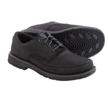 Merrell Realm Haza Lace Shoes - Nubuck (For Men) in Black - Closeouts