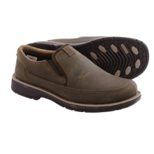 Merrell Realm Haza Moc Shoes - Nubuck (For Men) in Otter - Closeouts