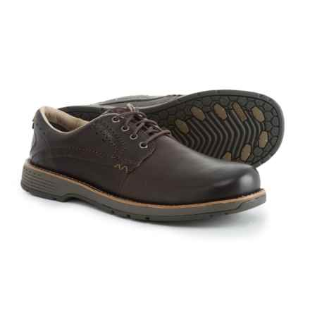 Merrell Realm Lace Oxford Shoes - Leather (For Men) in Espresso - Closeouts