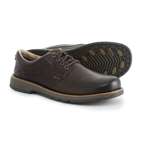 Merrell Realm Lace Oxford Shoes - Leather (For Men) in Espresso