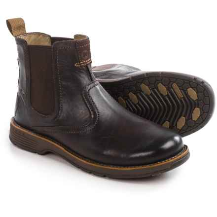 Merrell Realm Pull-On Boots (For Men) in Espresso - Closeouts