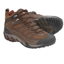 Merrell Refuge Core Mid Hiking Shoes - Waterproof (For Men) in Coffee Bean - Closeouts
