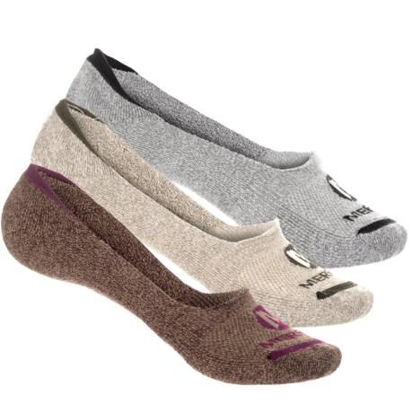 Merrell Repreve® Cushioned Liner Socks - Below the Ankle, 3-Pack (For Women)