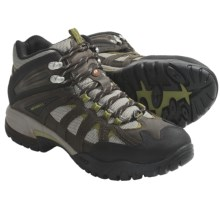 Merrell Ridgeline Mid Ventilator Hiking Boots (For Men) in Bracken/Aluminum - Closeouts