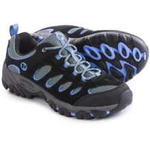 Merrell Ridgepass Hiking Shoes (For Women) in Black/Periwinkle - Closeouts