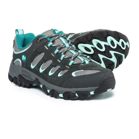 Merrell Ridgepass Hiking Shoes (For Women) in Granite/Eggshell