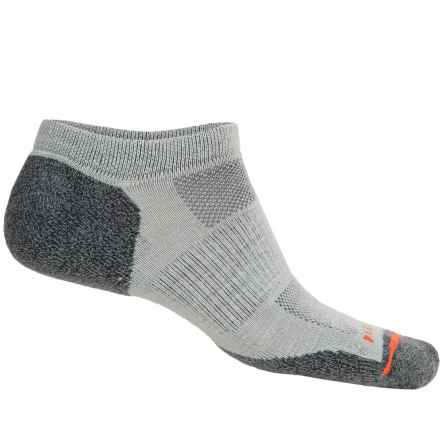 Merrell Ridgepass Hiking Socks - Below the Ankle (For Men) in Black/Lead Grey - Closeouts