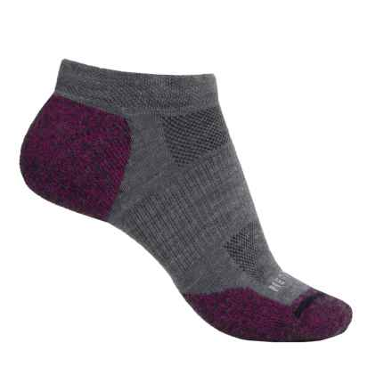 Merrell Ridgepass Hiking Socks - Below the Ankle (For Women) in Vivacious/Steel - Closeouts