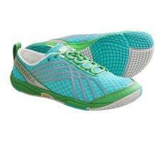 Merrell Road Glove Dash 2 Running Shoes - Minimalist (For Women) in Blue/Green - Closeouts