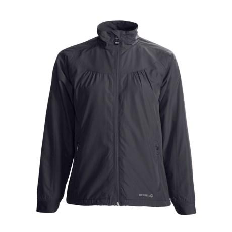 Merrell Rowena Adventure Rest Jacket - Packable (For Women) in Black