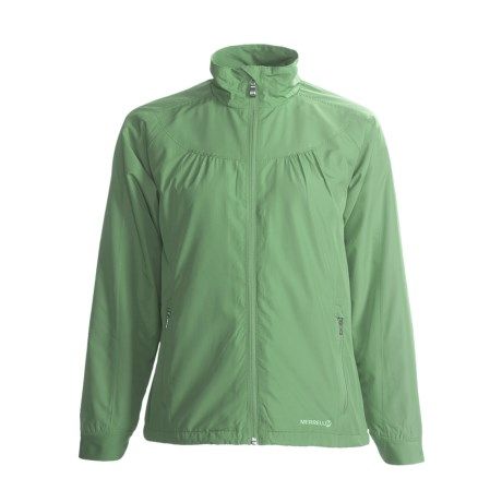 Merrell Rowena Adventure Rest Jacket - Packable (For Women) in Mojito
