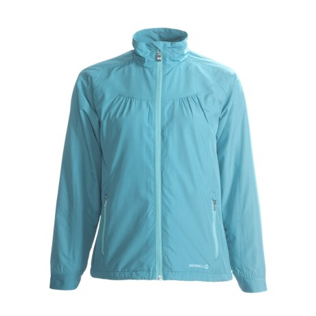 Merrell Rowena Adventure Rest Jacket - Packable (For Women) in Shoreline