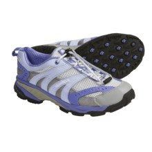 Merrell RTT Flux Trail Shoes (For Girls) in Ash/Skyway - Closeouts